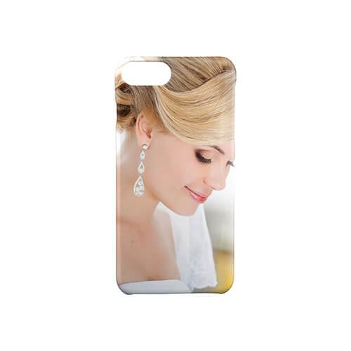 iPhone 7 / 8 Plus fényes fehér 3D tok szublimáláshoz, préseléshez