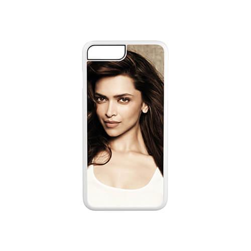 iPhone 7 / 8 Plus fehér műanyag tok szublimáláshoz, préseléshez