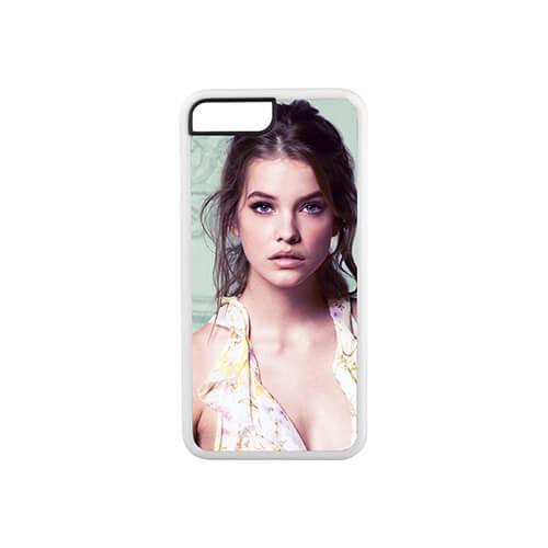 iPhone 7 / 8 Plus fehér gumi tok szublimáláshoz, préseléshez