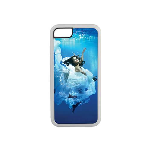 iPhone 7 / 8 fehér gumi tok szublimáláshoz, préseléshez