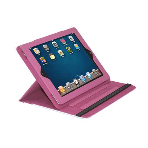 iPad rózsaszín bőrtok szublimáláshoz, préseléshez