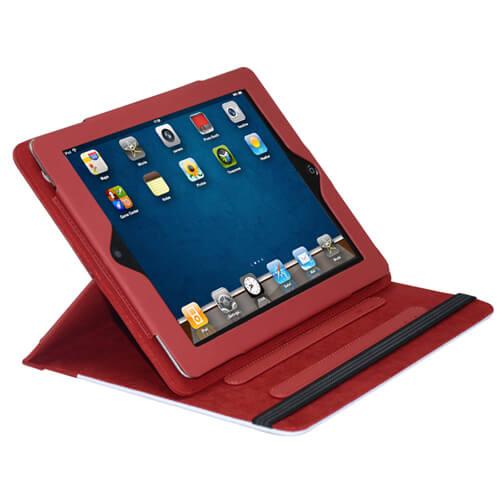 iPad piros bőrtok szublimáláshoz, préseléshez