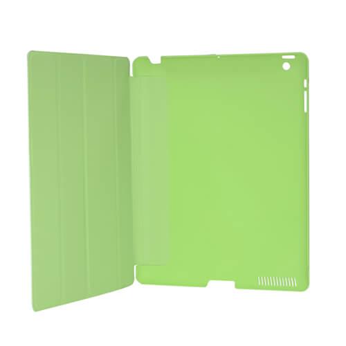 iPad zöld műanyag tok szublimáláshoz, préseléshez