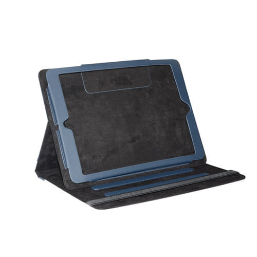 iPad Air tengerészkék bőrtok szublimáláshoz, préseléshez
