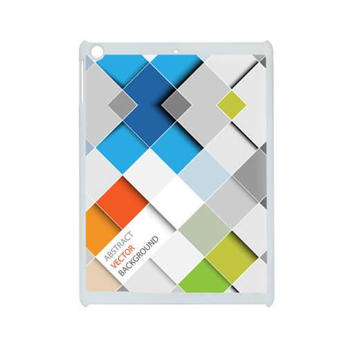 iPad Air fehér műanyag tok szublimáláshoz, préseléshez