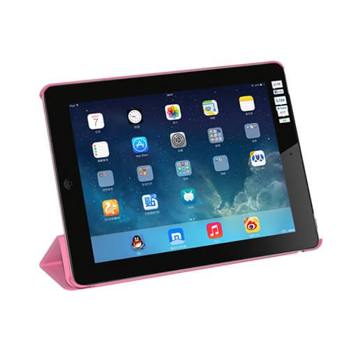 iPad rózsaszín műanyag tok szublimáláshoz, préseléshez