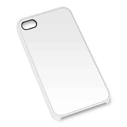 iPhone 4/4S áttetsző műanyag tok szublimáláshoz, préseléshez