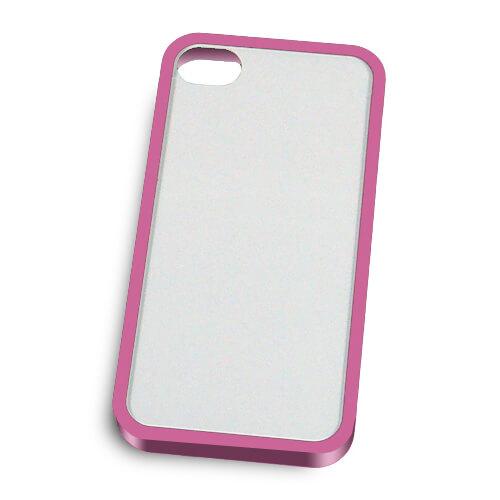 iPhone 4/4S lila műanyag keret szublimáláshoz, préseléshez