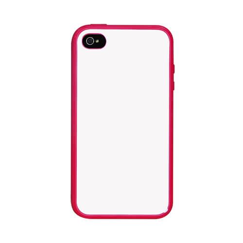 iPhone 4/4S piros gumi tok szublimáláshoz, préseléshez