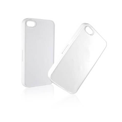 iPhone 4/4S fehér műanyag tok szublimáláshoz, préseléshez