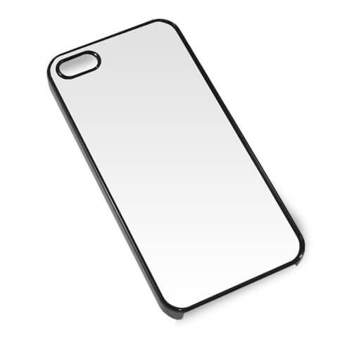 iPhone 5/5S fekete műanyag tok szublimáláshoz, préseléshez