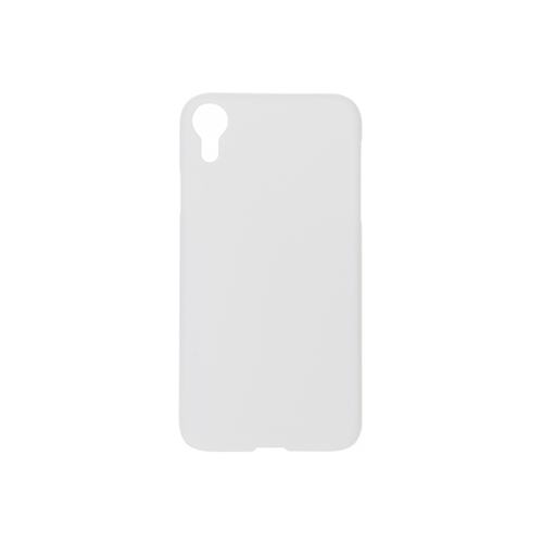 Szublimálható iPhone XR fényes fehér 3D tok