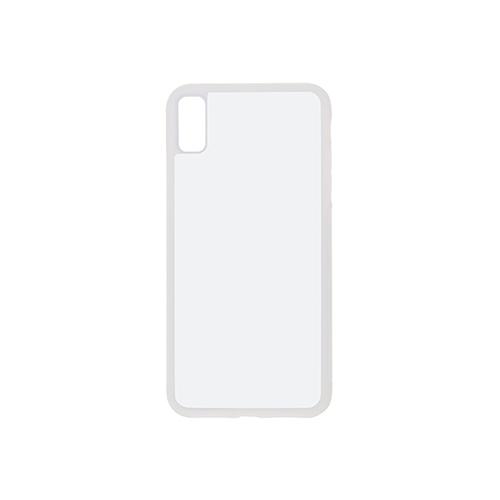 Szublimálható iPhone XR műanyag fehér 3D tok