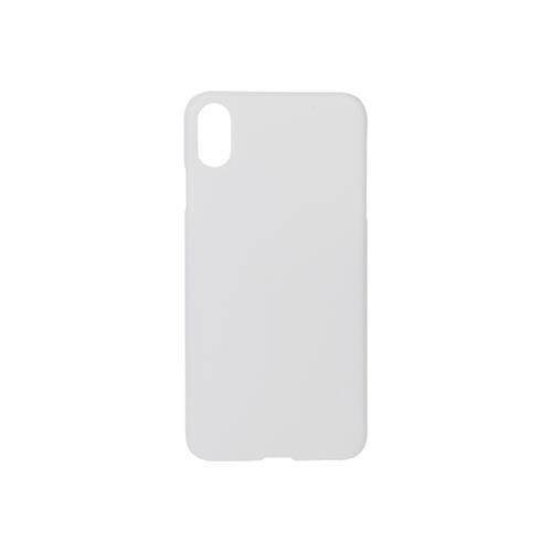 Szublimálható iPhone XS Max fényes tok - fehér