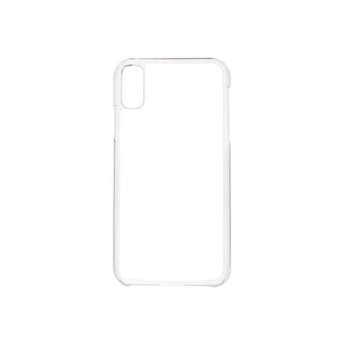 Szublimálható iPhone XS Max műanyag tok - átlátszó