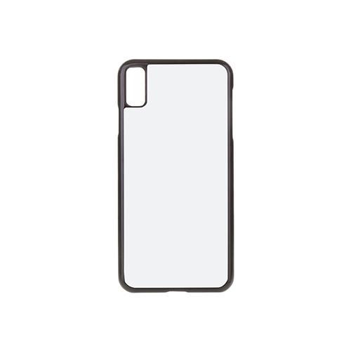 Szublimálható iPhone XS Max műanyag tok - fekete