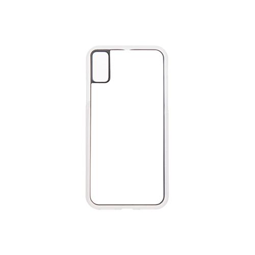 Szublimálható iPhone XS Max szilikon tok - átlátszó