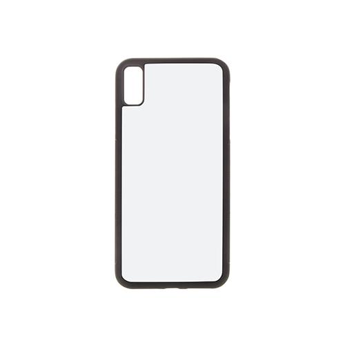 Szublimálható iPhone XS Max gumi tok - fekete
