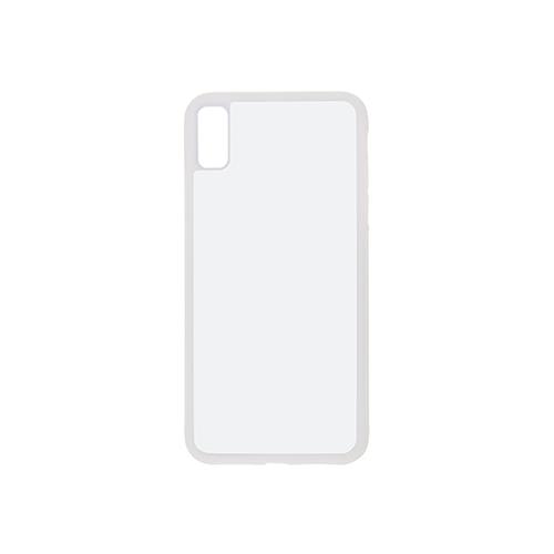 Szublimálható iPhone XS Max műanyag tok - fehér
