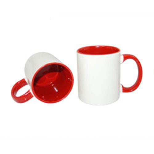 Szublimálható JS-Coating bögre 330 ml FUNNY piros