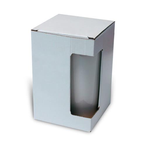 Ablakos doboz szublimált, préselt nagy latte bögréhez