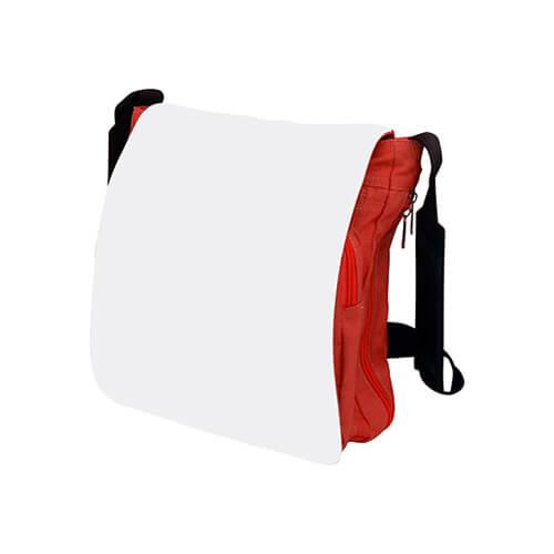 28 x 31 cm-es piros válltáska szublimáláshoz, préseléshez