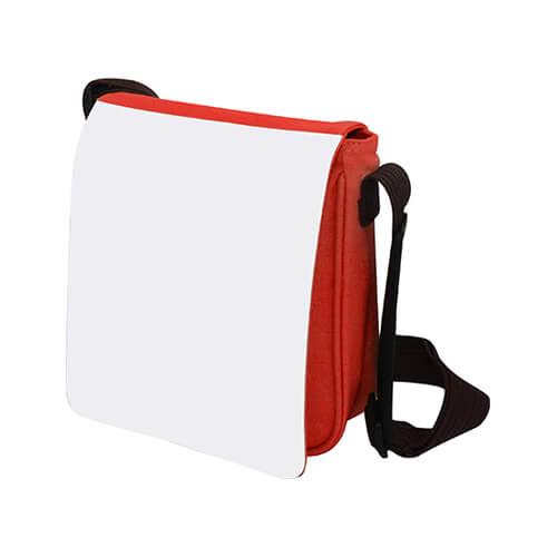 25 x 21 cm-es piros válltáska szublimáláshoz, préseléshez