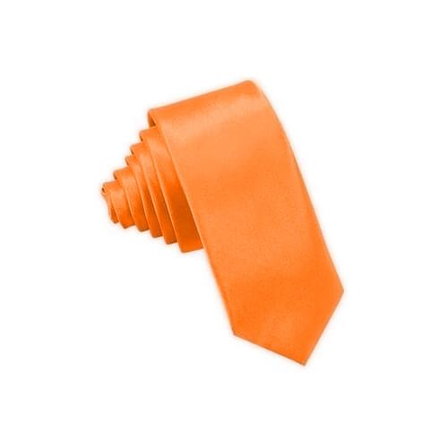 Narancssárga nyakkendő szublimáláshoz, préseléshez