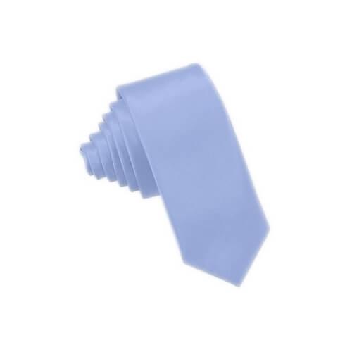 Világoskék nyakkendő szublimáláshoz, préseléshez