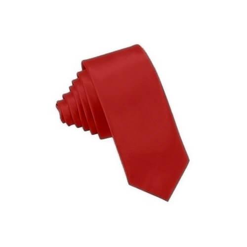 Cseresznyepiros nyakkendő szublimáláshoz, préseléshez