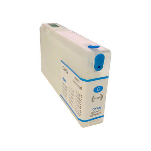 Újratölthető tintapatronok az Epson WP-4095DN-hoz - Cyan