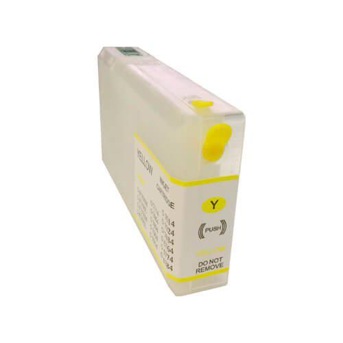 Újratölthető tintapatronok az Epson WP-4095DN-hoz - Citromsárga