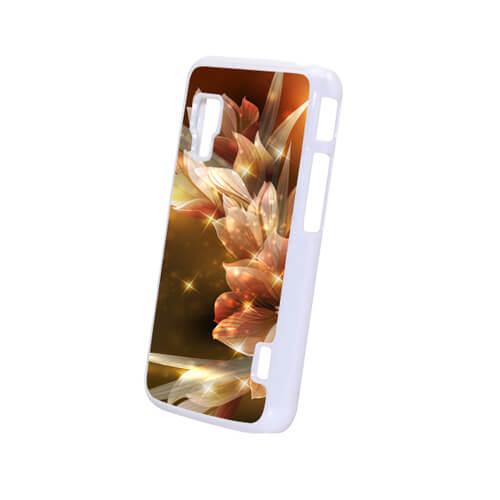 LG L5 II fehér műanyag tok szublimáláshoz, préseléshez