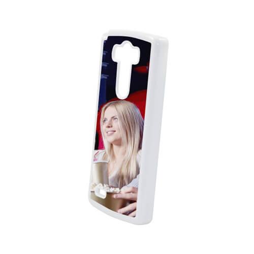 LG G3 fehér műanyag tok szublimáláshoz, préseléshez