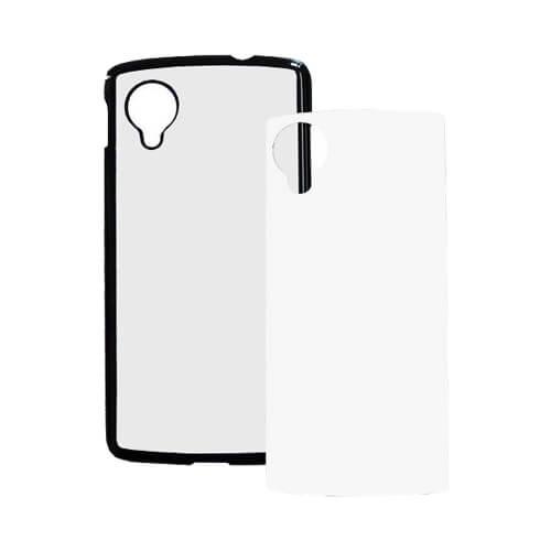 LG Nexus 5 fekete műanyag tok szublimáláshoz, préseléshez