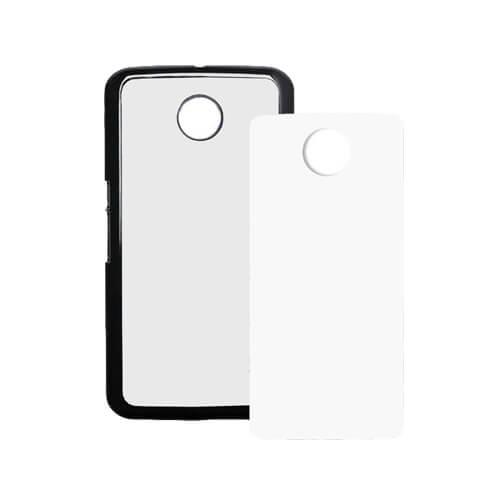 LG Nexus 6 fekete műanyag tok szublimáláshoz, préseléshez