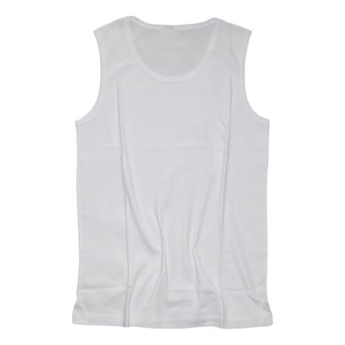 Férfi Cotton-Touch atléta trikó, L-es, szublimáláshoz, préseléshez
