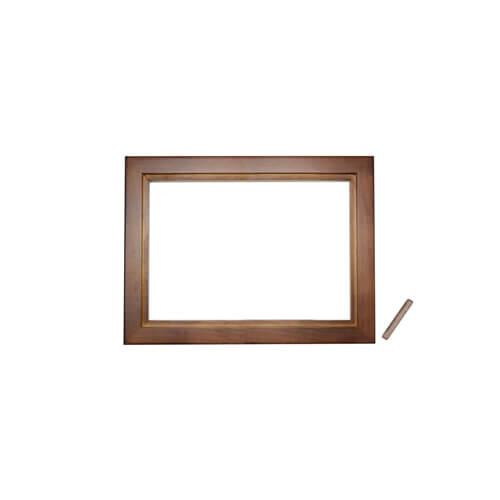 24 x 19 cm-es fa fotókeret