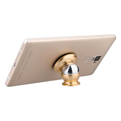 Mágneses okostelefon tartó szublimáláshoz - arany