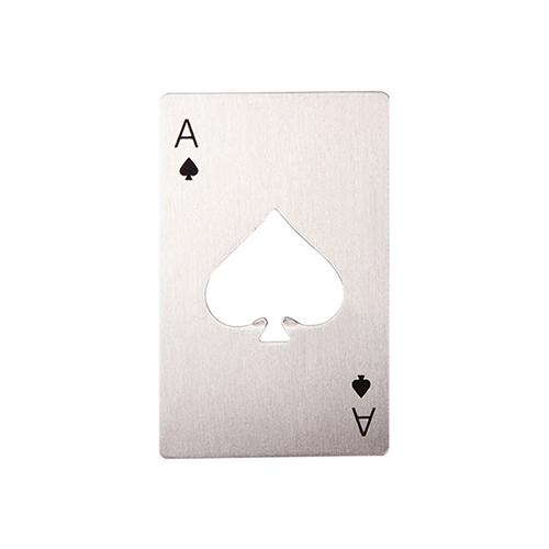 Szublimálható sörnyitó - póker