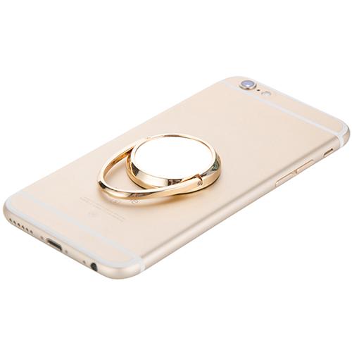 Szublimálható forgatható mobiltelefon gyűrű - arany