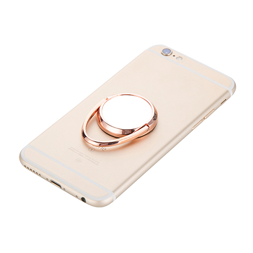 Szublimálható forgatható mobiltelefon gyűrű - vörös arany