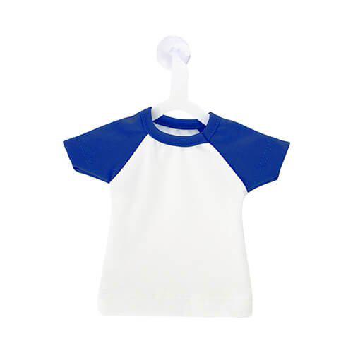 Szublimálható Mini póló akasztóval - kék