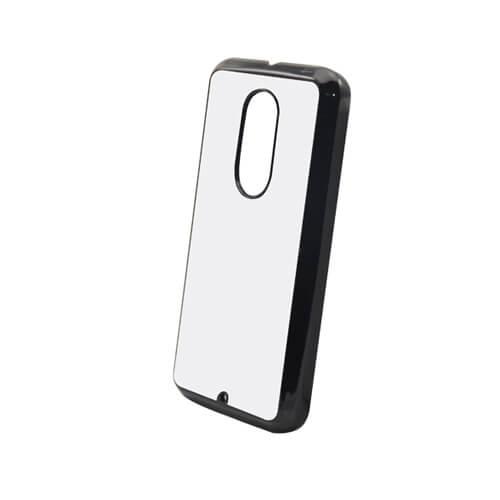 Motorola Moto X2 fekete műanyag tok szublimáláshoz, préseléshez