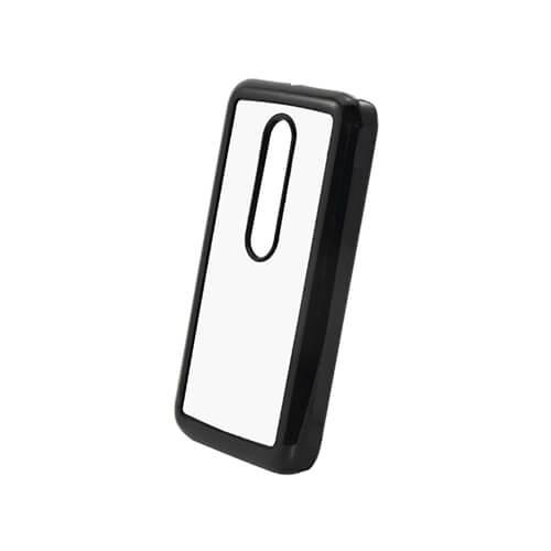 Motorola Moto G3 fekete műanyag tok szublimáláshoz, préseléshez