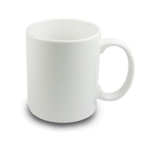 330 ml-es fehér porcelán bögre szublimáláshoz, préseléshez