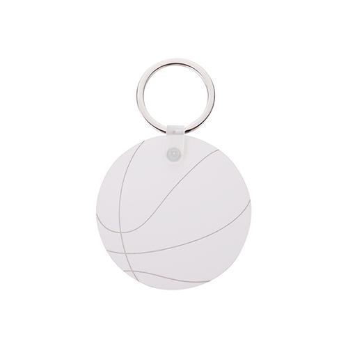 Szublimálható MDF kulcstartó - Kosárlabda