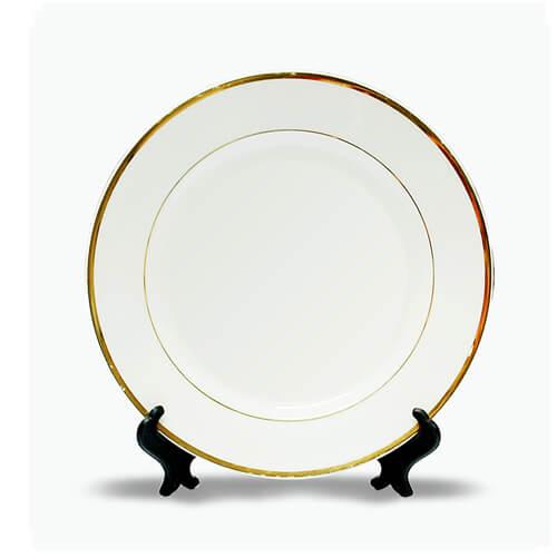 25 cm átmérőjű tányér állvánnyal, szublimáláshoz, préseléshez