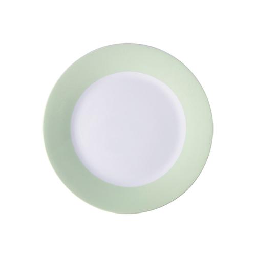 Szublimálható 20,5 cm tányér világos zöld széllel