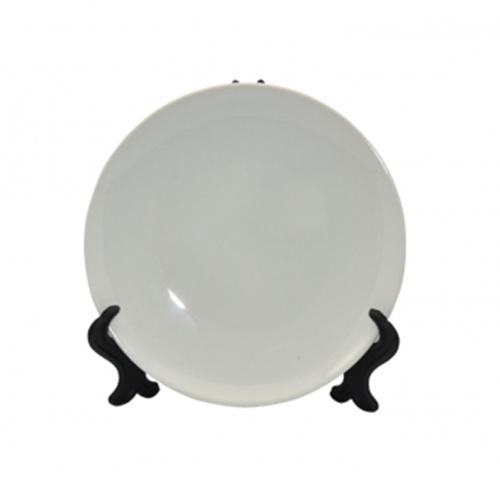 Szublimálható 15,5 cm tányér álvánnyal /Teljes Nyomtatás/
